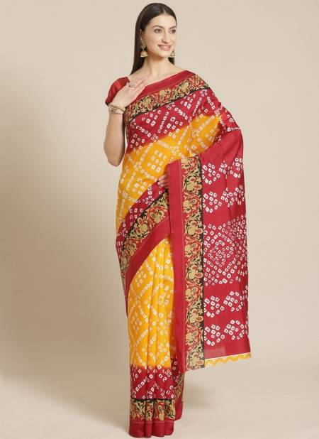 Bhagalpuri 3 Ethnic Festive Daily Wear Silk Sarees Collection