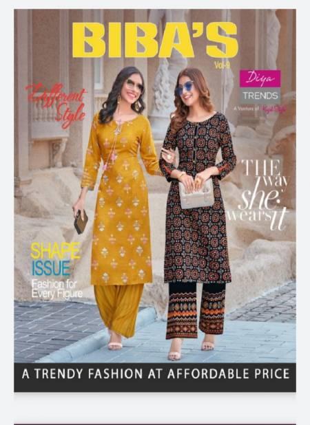 Bibas 9 Designer Fancy latest Designer Festive Wear Kurti With Bottom Collection