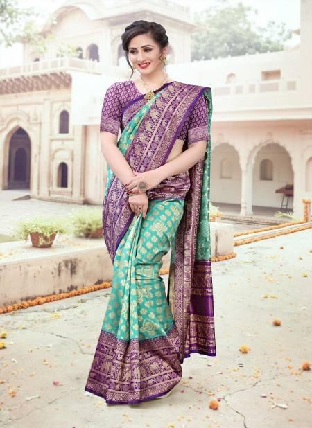 Bk 8482 Latest Fancy Designer Heavy Festive Wear Silk Weaving Banarasi Silk Sarees Collection