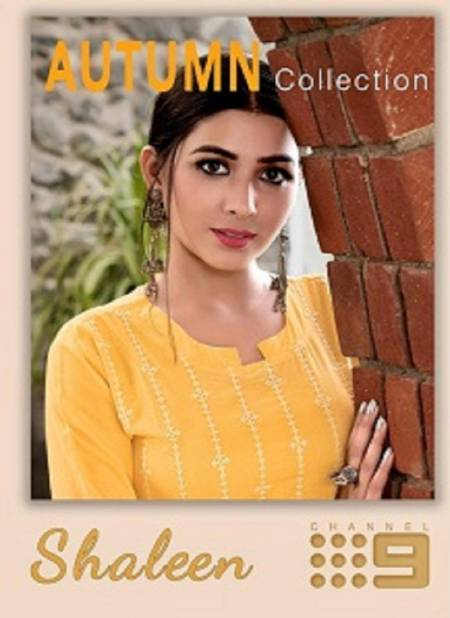 C9 Shaleen Classic Latest Fancy Designer Ethnic Wear Pure Cotton Kurti With Bottom Collection
