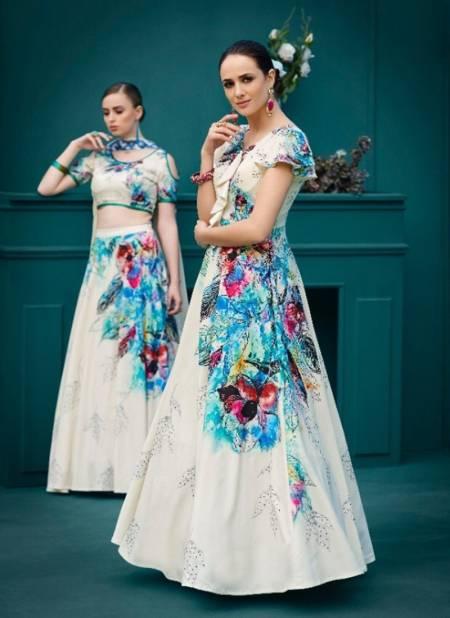 Collection Of Latest Designer Digital Printed Party Wear Lehenga choli