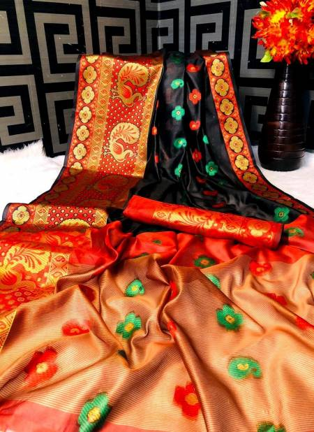 Mor Banarsi Cotton Latest Exclusive Collection Of Poly Cotton Festive Wear Saree