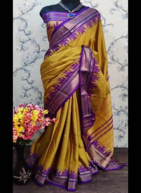 Redolence Prachi Exclusive Latest Festive Wear Function Wear Cotton Silk Designer Saree Collection