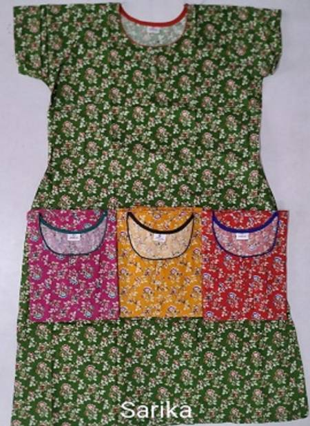Cotton Nighty 107 Western Latest Collection Of Printed Pure Cotton Night Wear