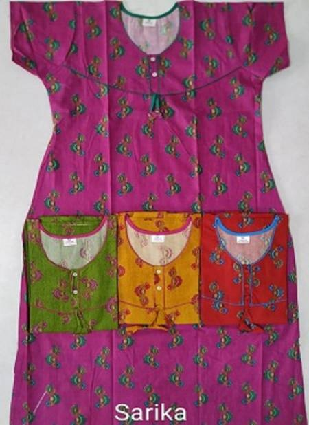 Cotton Nighty 108 Latest Collection Of Printed Pure Cotton Night Wear Gown