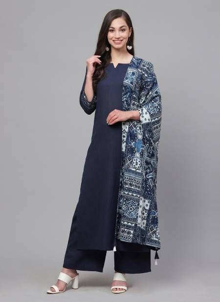 Crystal 2 Casual Fancy Regular Wear Ready Made Cotton Plazzo Suit Collection