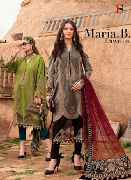 Deepsy Maria B Lawn 21 Latest Fancy Designer Casual Wear Digital Printed Pakistani Salwar Suits Collection