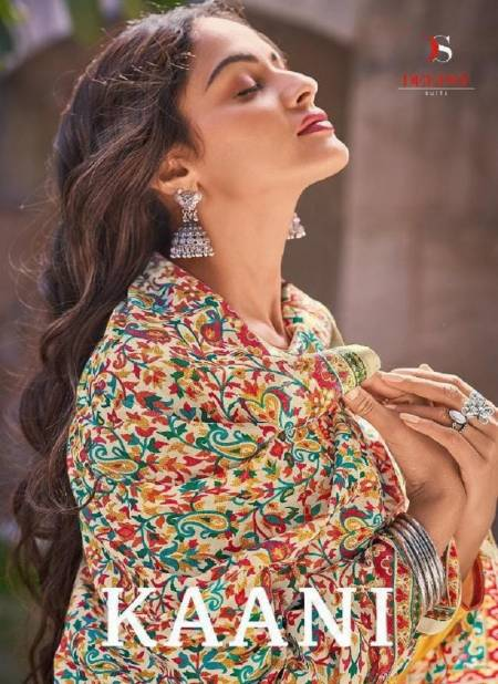 DEEPSY SUITS KAANI Latest Fancy Designer Festive Wear Jam Cotton Printed And Heavy Embroidery Work Salwar Suit Collection