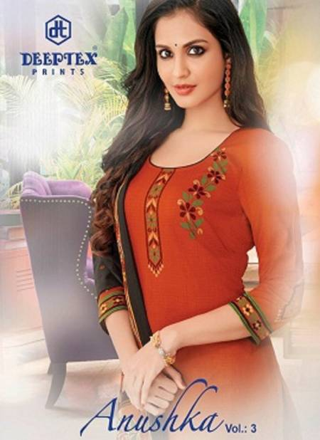 Deeptex Anushka Vol 3 Latest Daily Wear Pure Cotton Printed Dress Material Collection