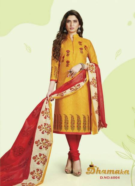 Devi Dhamaka 6 Latest Collection Of Regular Wear Printed Cotton Dress Material