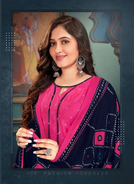 Diksha 4 Colour Fancy Printed Regular Wear Pure Cotton Readymade Collection