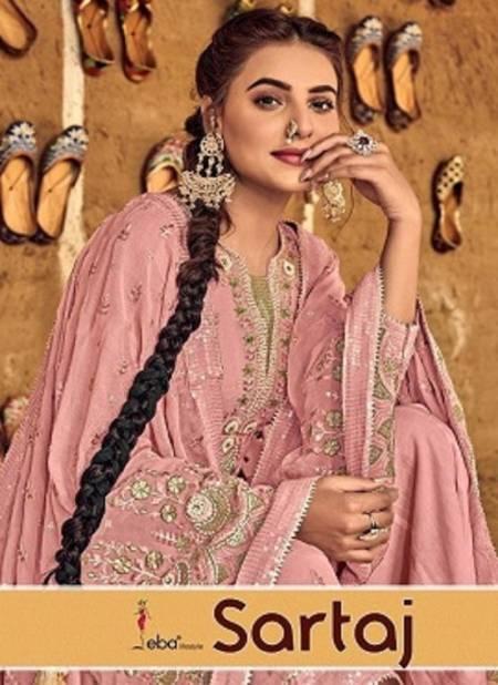 Eba Sartaj Dress Material Latest Heavy Designer Wedding Wear Heavy Worked Salwar Suits Collection