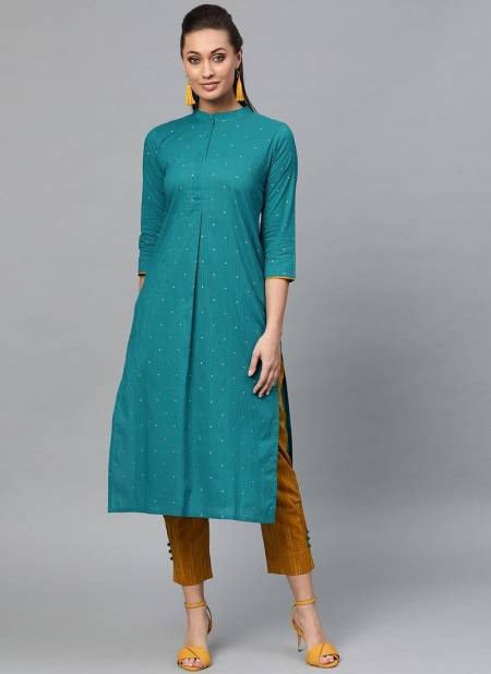 Era Crystal 4 Latest Designer Fancy Casual Wear Cotton Kurti With Bottom Collection