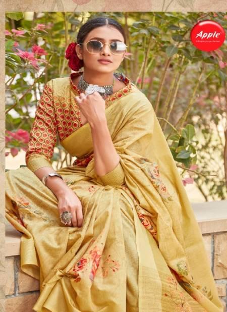 Fellatio Vol-3 Latest Fancy Designer Casual Wear Soft Cotton Silk Digital Printed Saree Collection
