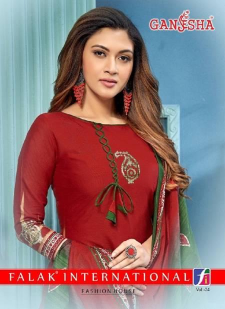 Ganesha Patiyala 24 Latest Designer Casual Regular Wear Printed Cotton Dress Material Collection