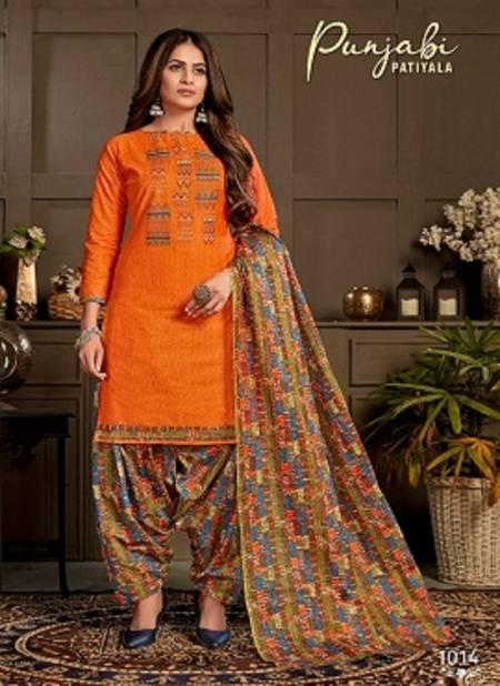 Ganesha Punjabi Patiyala 1 Latest Collection Of Ready Made Daily Wear Printed Cotton Salwar Kameez