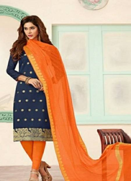 Gng Kulfi 2 Casual Wear Banarasi jacquard Kurta And dupatta With Cotton Bottom Dress Material Collection
