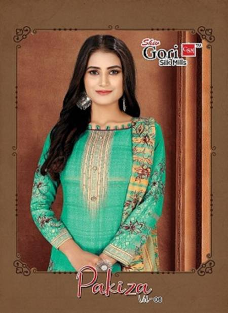 Gori Pakiza Vol 6 Latest Heavy Cotton Printed Casual Wear Dress Material Collection