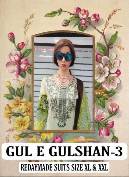 Gul E Gulshan 3Latest Fancy Designer Casual Wear Lawn Cotton Printed Readymade Suit Collection