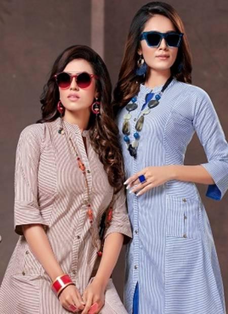 Handloom Cotton Designer party Wear Printed Kurti Collection
