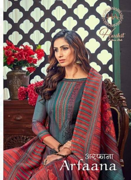 Harshit Arfaana Latest Fancy Regular Wear Digital Printed Designer Cotton Dress Material Collection