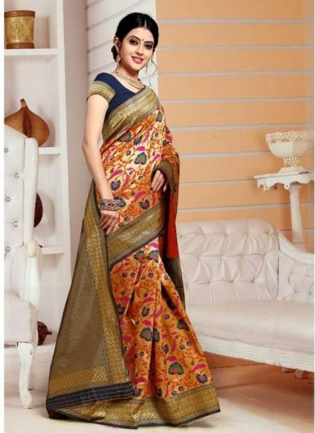 Heavy Designer Rich Look Party Wear Bridal Meenakari Worked Mysore Silk Saree Collection