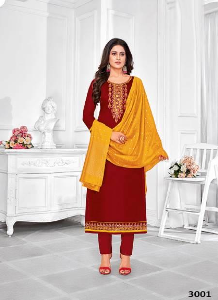 Heeraya Designer  Latest Designer Heavy Festive Wear Jam Cotton Embroidery Work Dress Material Collection