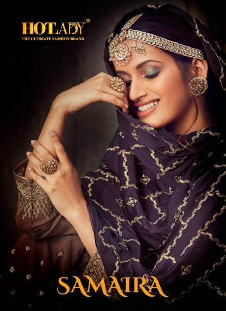 Hotlady Samaira 616 Exclusive Heavy Embroidery Work Salwar Kameez Collection