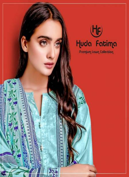 Huda Fatima Spring Lawn Collection 2020 New Designer Printed Karachi Dress Material