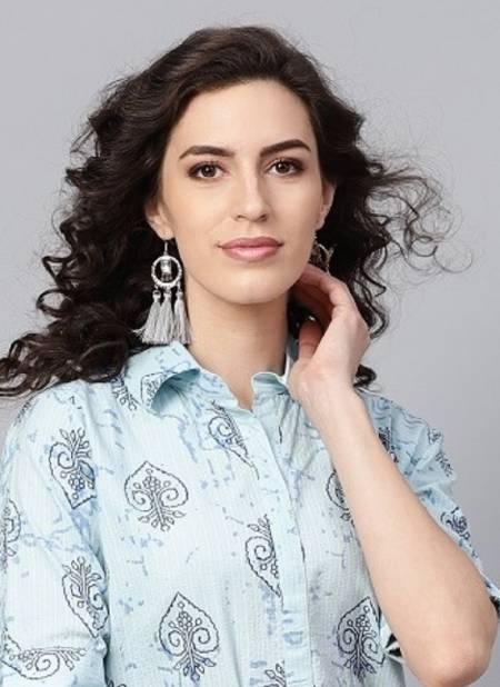 Indo Era 6 Latest Fancy Designer Regular Casual Wear Cotton Stylish Kurtis Collection