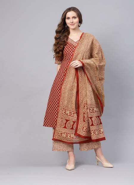 Indo Era Kurta Set 2 Latest Festival Wear Designer Printed Pure Cotton Plazzo Suit Collection