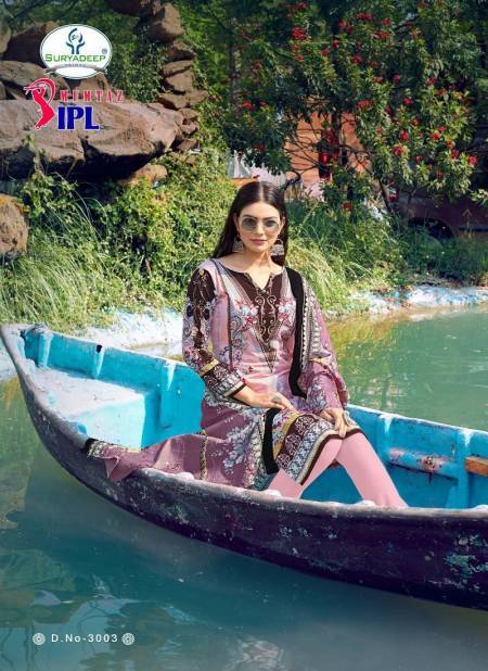Ipl Mumtaz 3 Latest Fancy Designer Casual Wear Pure Cotton Printed Dress Material Collection