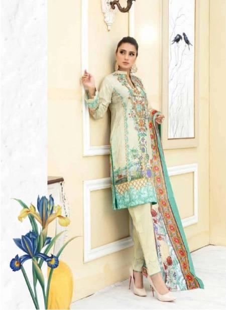 Iris 11 Latest Fancy Designer Casual Wear Cotton Karachi Dress Materials Collection