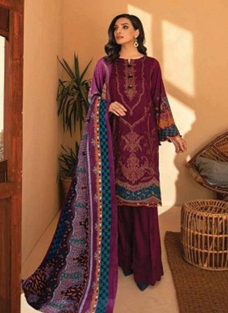 Iris 8 Cotton Karachi Readymade Pure Cotton Printed Top And Dupatta with Bottom Salwar Suit Collection