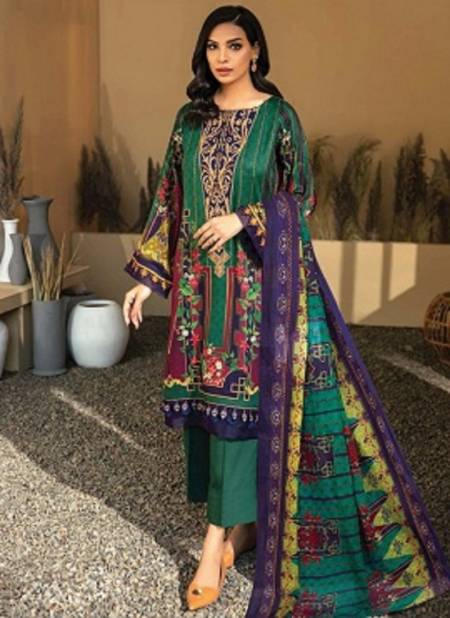 Iris 8 Latest Designer Casual Wear Pure Cotton Stylish Printed Karachi Dress Materials Collection