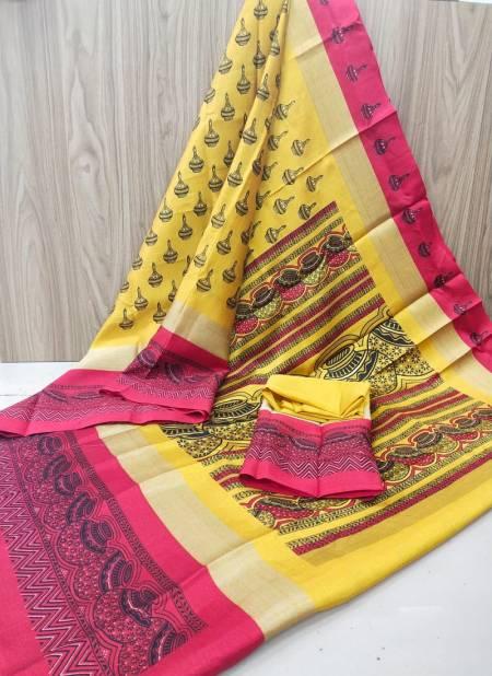 Janki Hp 276 New Regular Wear Cotton Silk Saree Collection