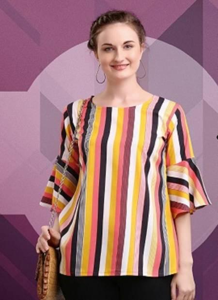 Jelite Tulip 2 Latest Printed Western Regular Wear Stylish Ladies Top Collection