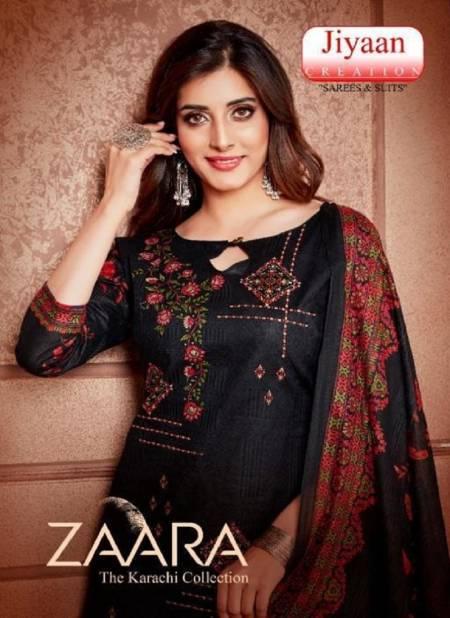 Jiyaan Zaara Fancy Designer Fancy Regular Casual Wear Printed Cotton Salwar Suit Collection