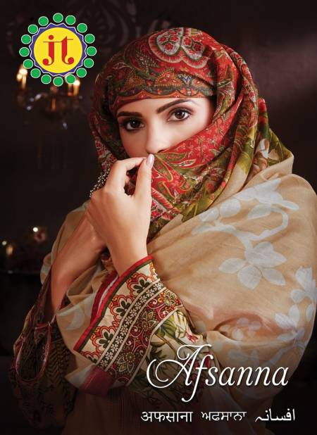 Jt Afsana Latest Fancy Designer Regular Casual Wear Printed Cotton Dress Material Collection