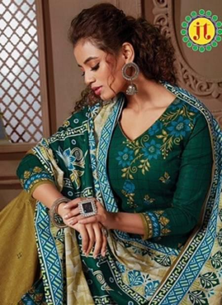 Jt Alia 10 Latest Fancy Regular wear Pure Cotton Printed Dress Material