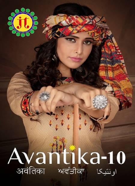 Jt Avantika 10 Latest fancy Regular Wear Printed Readymade Salwar Suit Collection