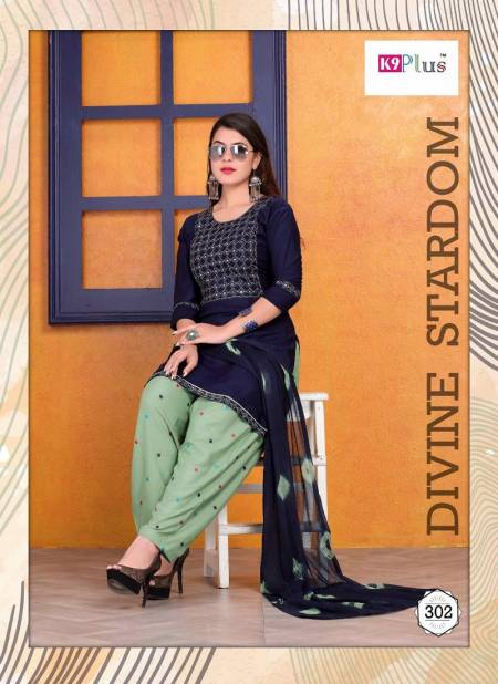K9 Plus Floral Fancy Latest Regular Casual Wear Rayon Printed Readymade Salwar Suit Collection