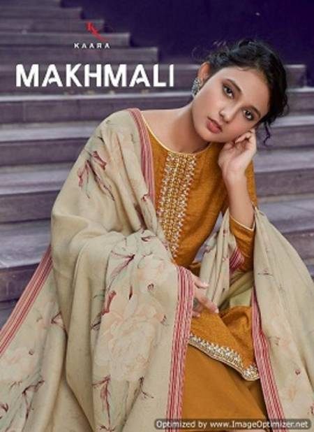 Kaara Makhmali Fancy Designer latest Casual Wear Pure Pashmina Designer Dress Material Collection