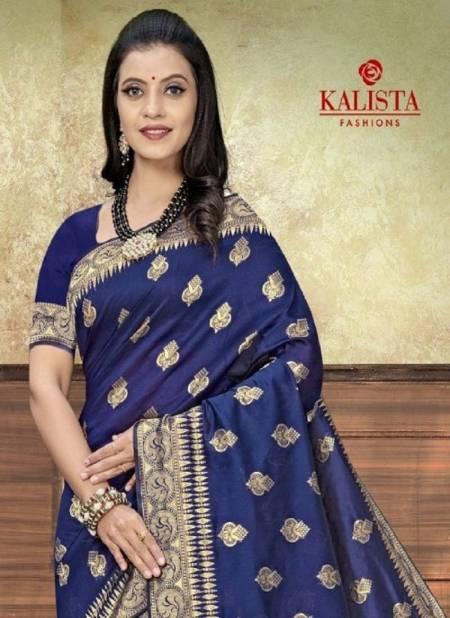 Kalista Ballika 2 Fancy Designer Banarasi Silk Festive Wear Latest Saree Collection