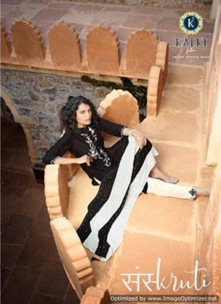Kalki Sanskruti Pure Chinon Silk Latest Festive Wear Designer Ready Made Suit Collection