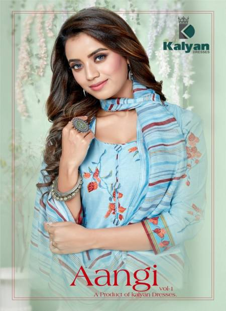 Kalyan Aangi Vol 1 Latest Designer Casual Wear Pure Cotton Dress Material Collection