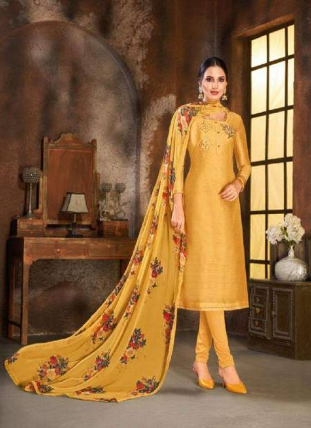 Kapil Spring Vol 5 Latest Designer Heavy Modal Cotton Hand Work Dress Material Collection With Chiffon Four Sided Lace Dupatta