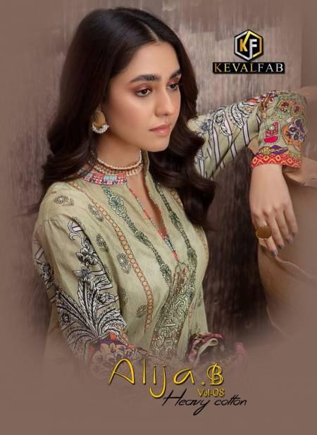 Keval Alija B 8 Exclusive Latest Fancy Designer Casual Wear Karachi Dress Material Collection