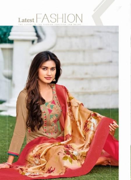 Khanak Latest Fancy Designer Regular Casual Wear Jam Cotton Designer Ethnic Wear Dress Material Collection