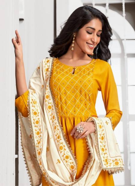 Kiana Crystal 2 Exclusive Casual Wear Readymade Rayon Salwar Suit Collection